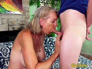 Golden Slut - Older Ladies Show off Their Cock Sucking Skills Compilation 3