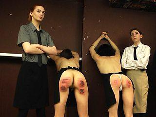 Severe girl girl punishment.