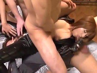 Best Japanese model Cocomi Naruse in Amazing Gangbang, Big Cock JAV scene