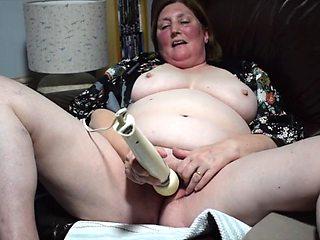 Real married 57yr slut wife masturbating &amp cumming for you