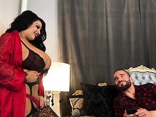 BBW cougar from Canada Samantha Mack goes wild on hard and big dick