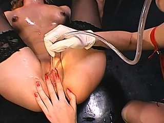 Orgy cumshots and group sex with german sluts