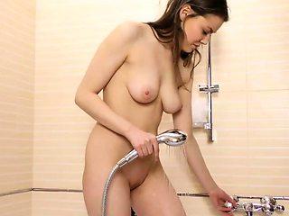 Sexy virgin Sasha Uralmasha gets her pussy pounded