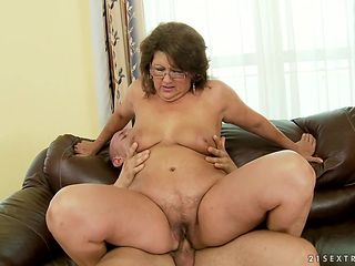 Redhead with bubbly ass is horny as fuck with dudes rod deep inside her dripping wet snatch