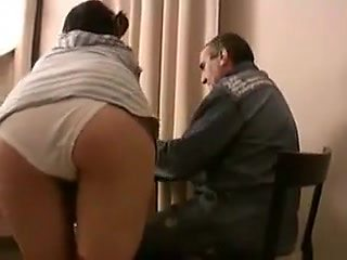 STP1 Pretty Teen Fucked By Dad !