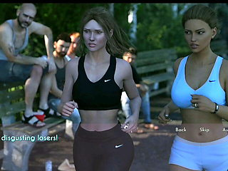 Wife And stepMother #6 going for a jog with pat
