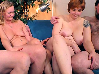 real swinger couple party with german wifes