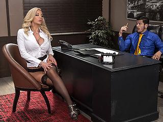 Nicolette Shea & Bambino in Boss For A Day - BRAZZERS