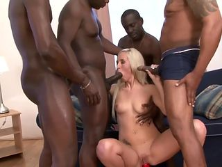 Jenny Simons gets gang fucked by blacks - Full scene at PornoPyro com