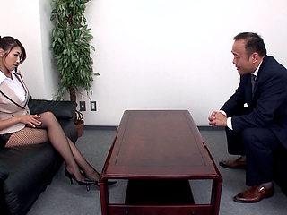 Reiko Kobayakawa in Secretary Seduces Her Boss - MilfsInJapan