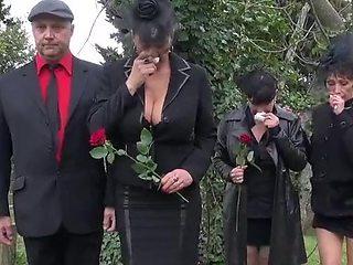 Heartbroken widow