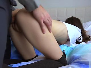 Schoolgirl Gets An Accidental Creampie From Her Teacher