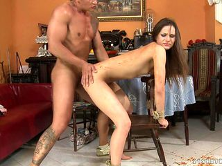 Teen Ashley proves that she takes dick in the anal hole like no other