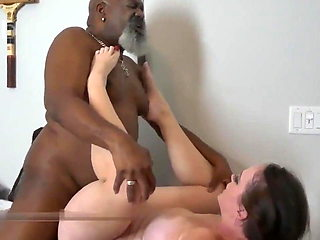 Chubby Cuckolding Wife Fucked By Black Bull