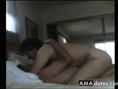 Noisy orgasm as I ride him like a whore