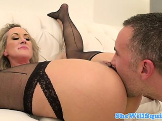 Squirting MILF Brandi Love dick riding