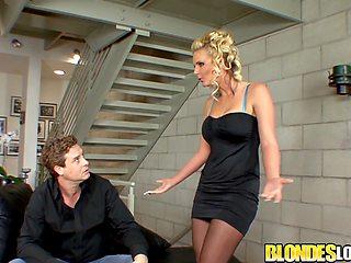 Blondes Love Dick - Big Tits MILF Phoenix Marie Rides a Dick