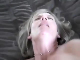 Drunk Mom Fucked by Dad in Missionary Style on Ottoman