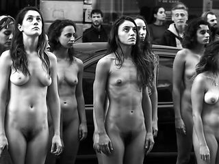 Nude women group at Argentina