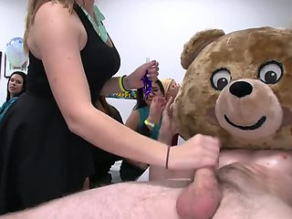 This is one very perverted birthday party with lots of cocksucking