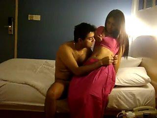 Desi couple honeymoon