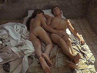 Amazing homemade Brunette, Retro sex scene