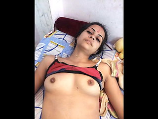 indian newly married couple having sex