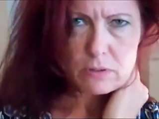 Fucking a redhead mature doggystyle