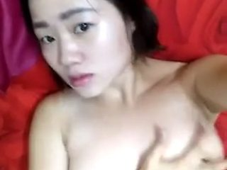 Chinese Girl Masturbating in Camera
