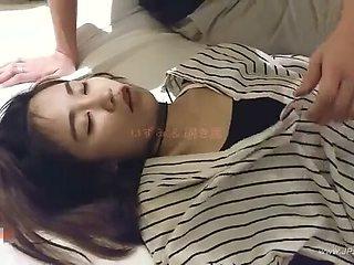 chinese man fucking sleeping gril.28