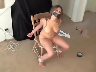 Felicity Nude and Gagged