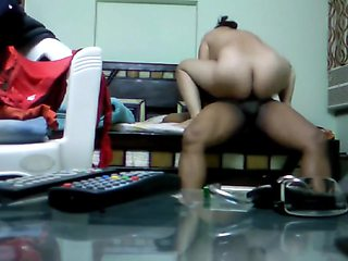 Indian Bhabhi with her office Boss