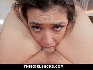 Kinky Girl Begs For A Rough FaceFuck