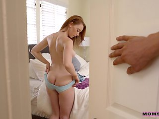 Spicy ass babe fucked in both holes and jizzed