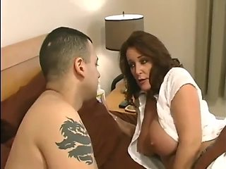 Rachel steele fucked by son and gets tricked into creampie