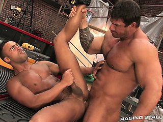 Zeb gets aggressive as he pummels Micah\'s tight, hot hole