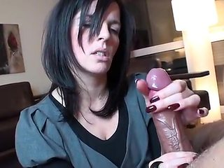 First BBC for goth slut