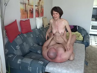 My wild wife cougar her lover, sex after work