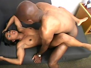Seattle black girl track athlete T-Murrie jumping a big dick