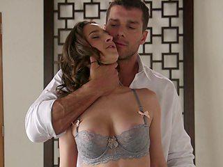 Nude vaginal seduction in rough scenes of maledom