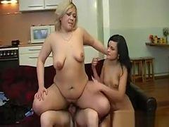 Russian Mature Mom In Threesome 12