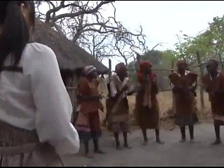 Japanese Girl travels to Africa for vacation