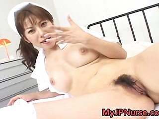 Aki Yatoh Asian nurse likes fucking