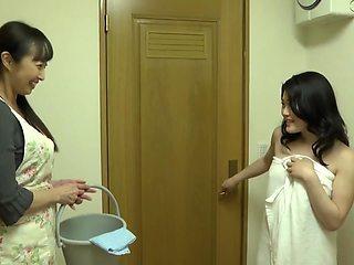 House Of Lesbian-housekeeper Saw! Nasty Celebrity Upset