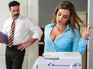 Natasha Nice & Charles Dera in Office Initiation - Brazzers