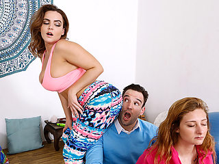 Natasha Nice & Alex Legend in Breathing Sexcercise - BRAZZERS