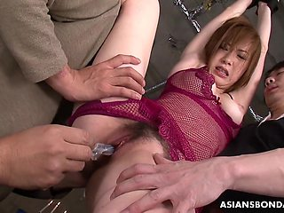 Aimi Ichijo Is A Perfect Sub For Kinky Men To Play With