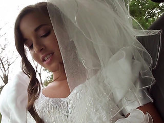 Gorgeous rejected bride Amirah Adara gets her pussy fucked by the stranger