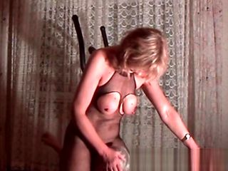 My MILF Exposed Mature wife in fishnet bodystockings