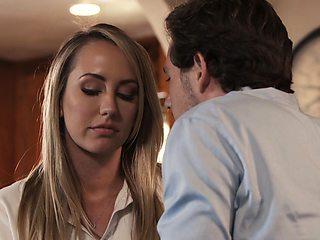 Flirty MILFie housewife Brett Rossi is fond of sensual cunnilingus